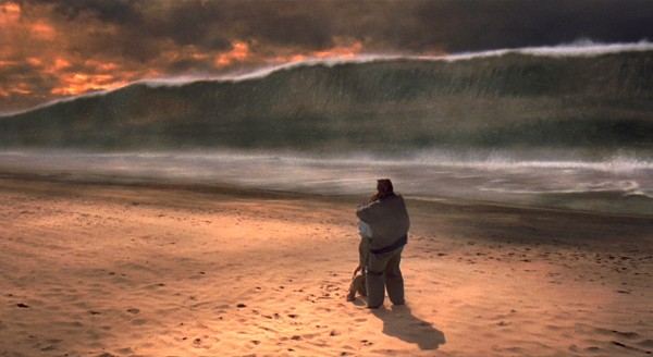 Scene from the film Deep Impact.