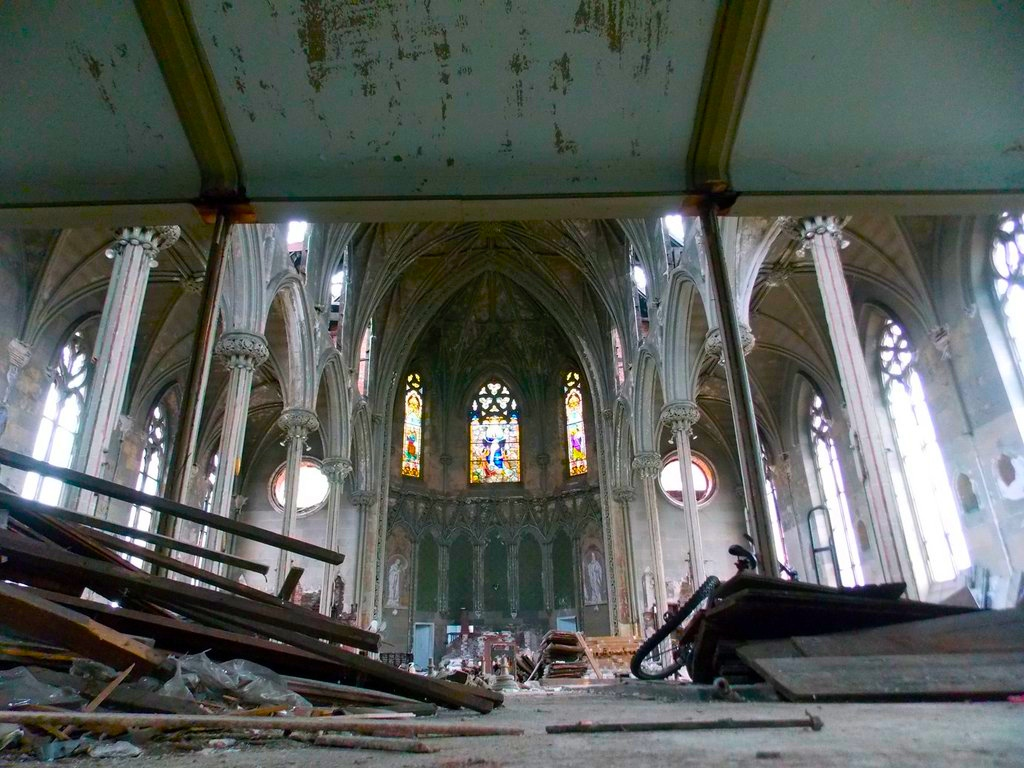 Renovation always begins with demolition