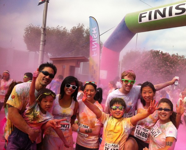 Color Me Rad 2013, to raise funds for Pace Autism School.  TEAM JEREMY is doing it again April  5, 2014.  Come join us!!!