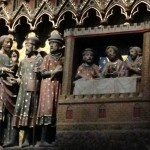 Cathedral de Notre Dame: Panel of the Road to Emmaus.